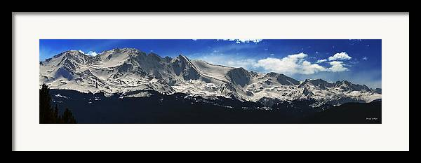 Mt. Massive Framed Print featuring the photograph Massive View by Darryl Gallegos