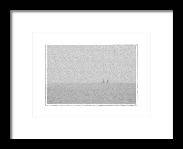 Seascape Framed Print featuring the photograph Mates by Robert Boyette