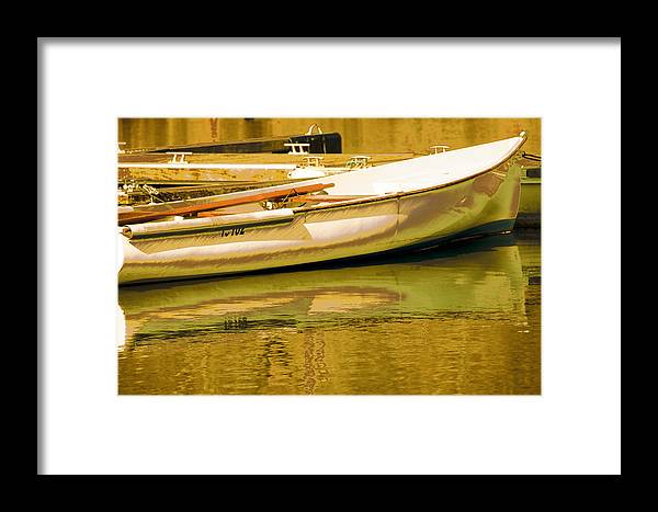 Abstract Landscape Framed Print featuring the photograph Matin Printemps by Mary Mansey