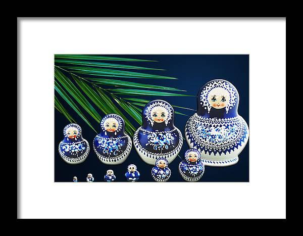Garden Framed Print featuring the photograph Matreshka Doll by Svetlana Sewell