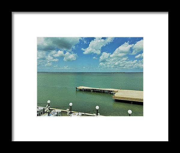 Beach Framed Print featuring the photograph Matrimony On The Bay by Angela Resendez