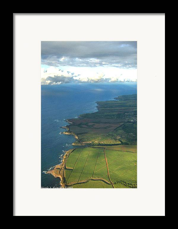 Maui Framed Print featuring the photograph Maui Coastline by Nicole I Hamilton