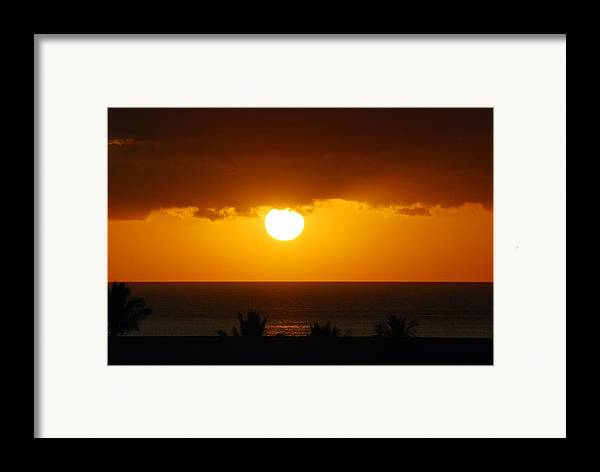 Framed Print featuring the photograph Maui Gold by JK Photography