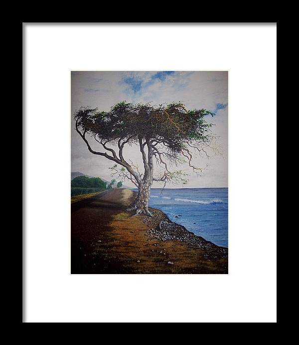 Framed Print featuring the painting Maui by James Moore