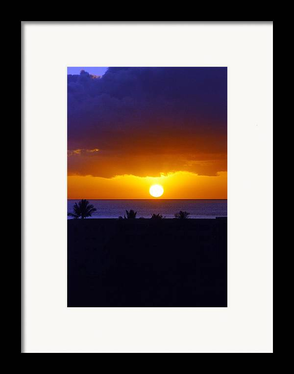 Framed Print featuring the photograph Maui by JK Photography