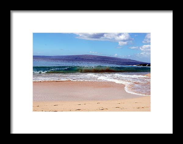 Framed Print featuring the photograph Maui Water by JK Photography