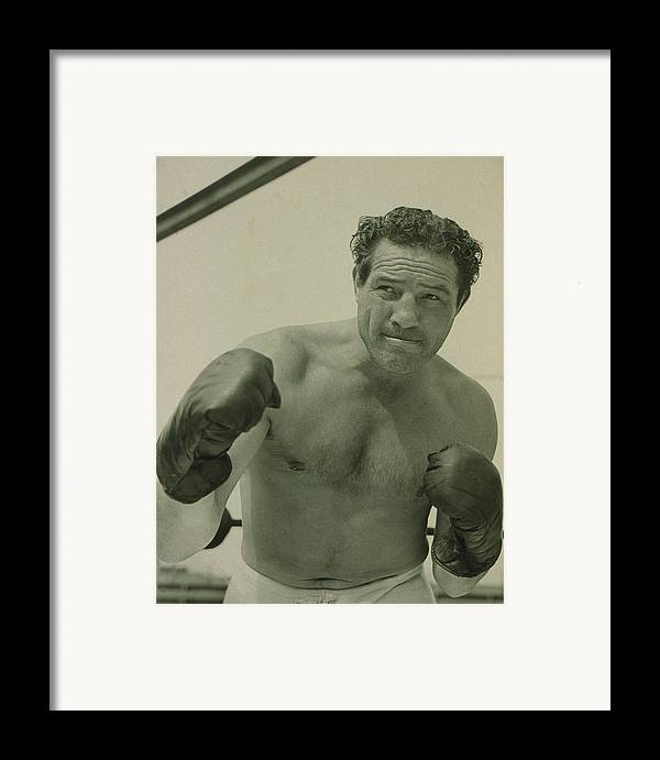 History Framed Print featuring the photograph Max Baer 1909-1959, One-time by Everett