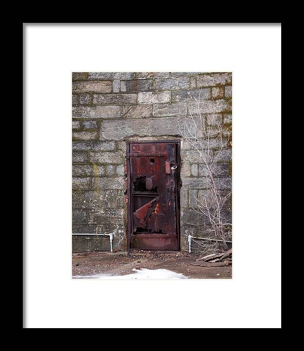 Pennsylvania Framed Print featuring the photograph Maximum Security by Kat Dee