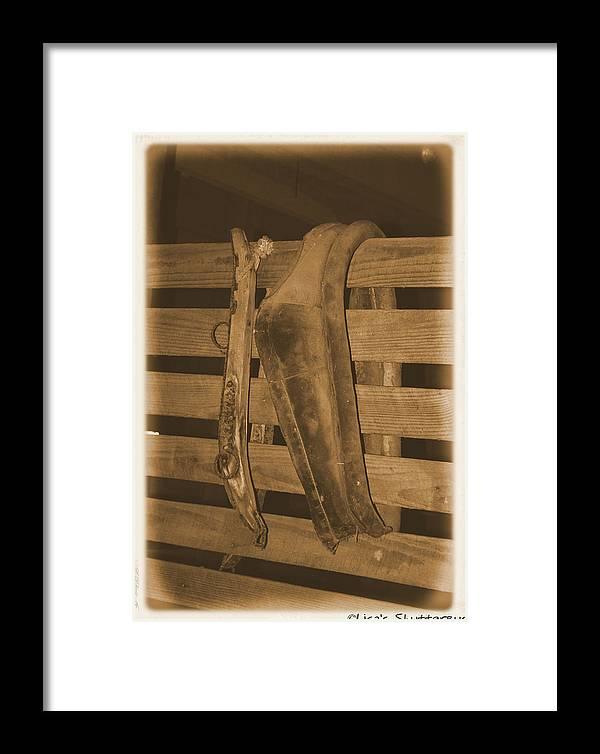 Barn Framed Print featuring the photograph Mcdonald 2 by Lisa Johnston