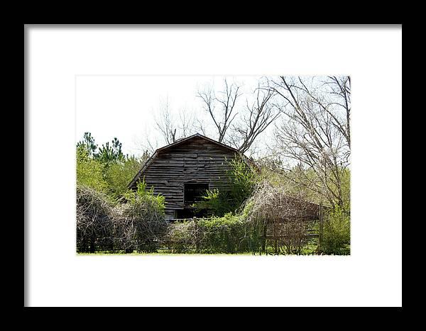 Barn Framed Print featuring the photograph Mcdonald 3 by Lisa Johnston