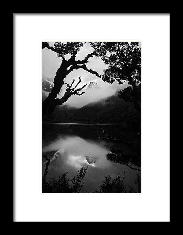 Landscape Framed Print featuring the photograph Mckenzie Reflection by Karl Manteuffel