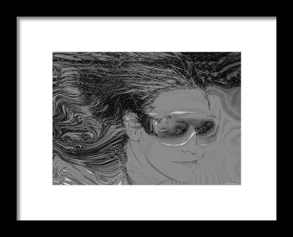 Me Framed Print featuring the photograph Me by Linda Sannuti