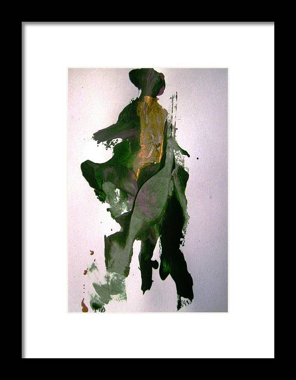 Cowboy Framed Print featuring the painting Mechanical Don Quixote Going Other Way by Bruce Combs - REACH BEYOND