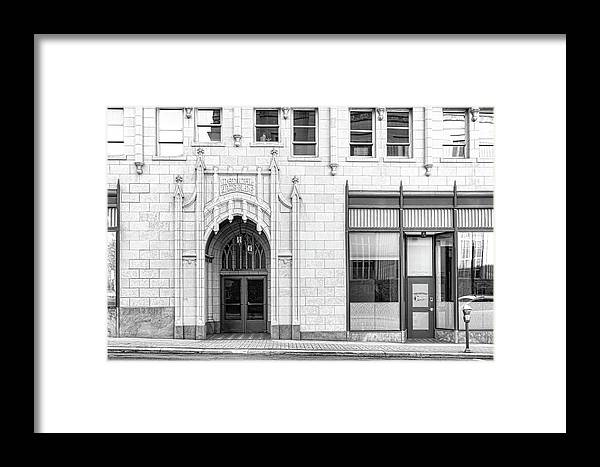 Medical Arts Building Framed Print by Sharon Popek