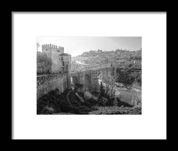 Photography Framed Print featuring the photograph Medieval Toledo II by Ignacio Leal Orozco