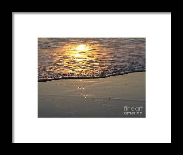 Seashore Framed Print featuring the photograph Meditation In G Major by John Loyd Rushing