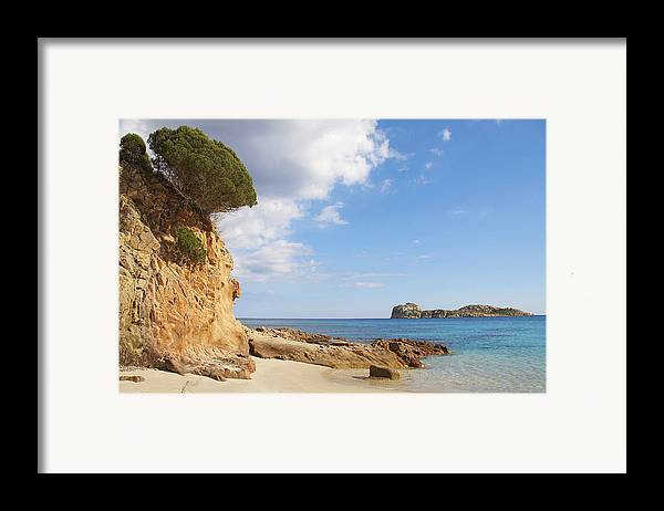 Sardinia Framed Print featuring the photograph Mediterraneum by Elisa Locci