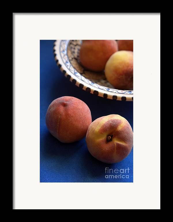 Crete Framed Print featuring the photograph Mediterrannean Peaches by Steve Outram