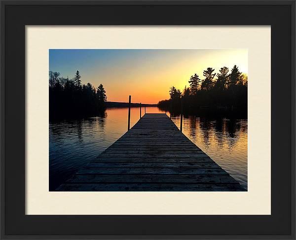 Medora Dock  by Scott Wendt Tom Wierciak