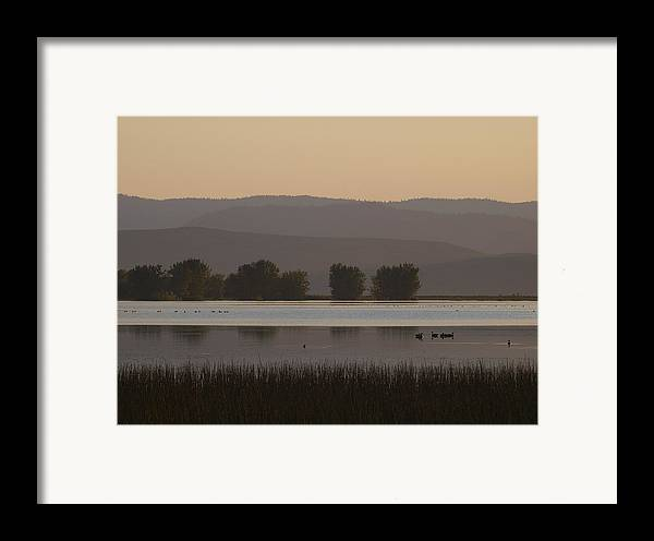 Mountains Framed Print featuring the photograph Meeting Nine Pipes At 854 by Rein Gillstrom