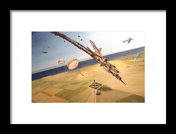 Aviation Framed Print featuring the painting Mehitabel by Marc Stewart