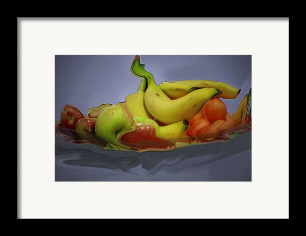 Photography Framed Print featuring the photograph Melting Fruit by Bill Ades