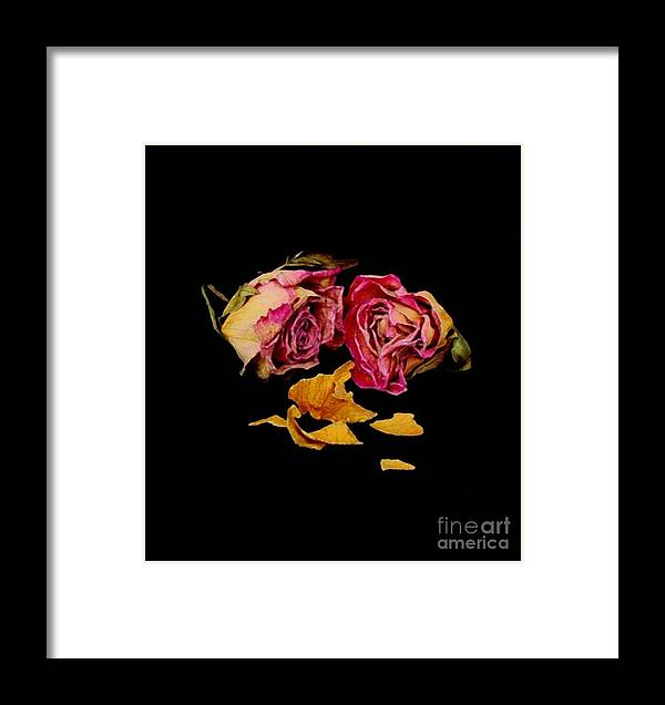 Floral Framed Print featuring the photograph Memories by Fred Wilson