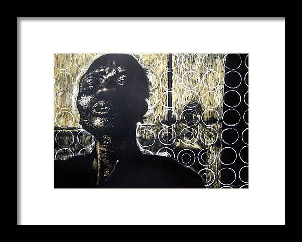 Framed Print featuring the mixed media Memories Of Our Parting by Chester Elmore