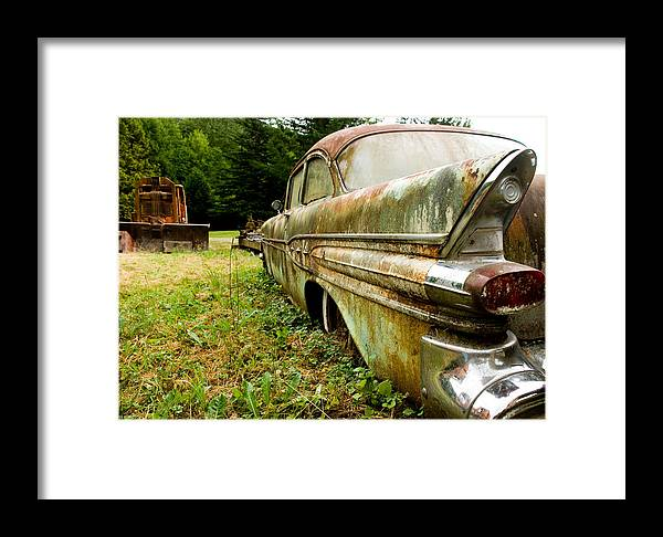Vintage Framed Print featuring the photograph Memory Lane by Jennifer Owen
