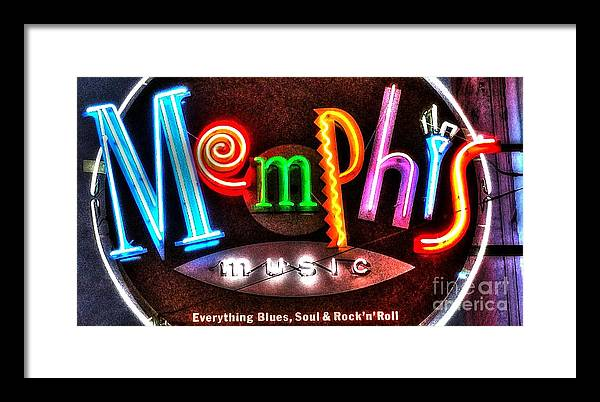 Memphis Neon Sign Beale Street  by Billy Morris