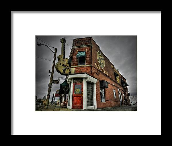 Sun Studio Framed Print featuring the photograph Memphis - Sun Studio 002 by Lance Vaughn
