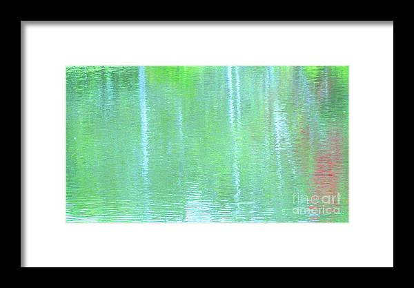Water Framed Print featuring the photograph Merciful Is The Love That Watches by Sybil Staples