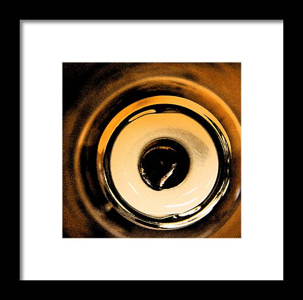Art Framed Print featuring the photograph Mercury Vapor Base by Gary Everson