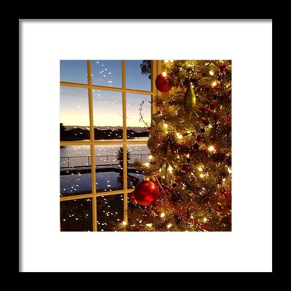 Framed Print featuring the photograph Merry Christmas Everyone!!! by Juan Silva
