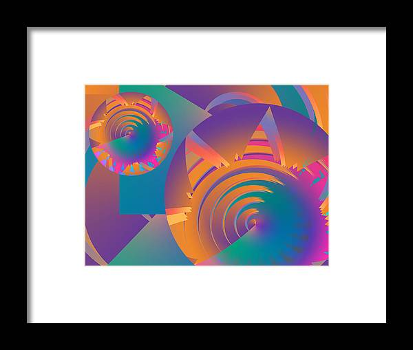 Philsh Framed Print featuring the digital art Mescalito by Phil Sadler