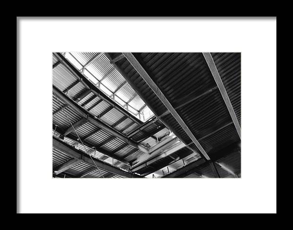 Metal Framed Print featuring the photograph Metal Jungle 1 by Jeff Porter
