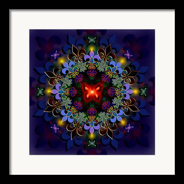 Spiritual Framed Print featuring the digital art Metamorphosis Dream II by Stephen Lucas