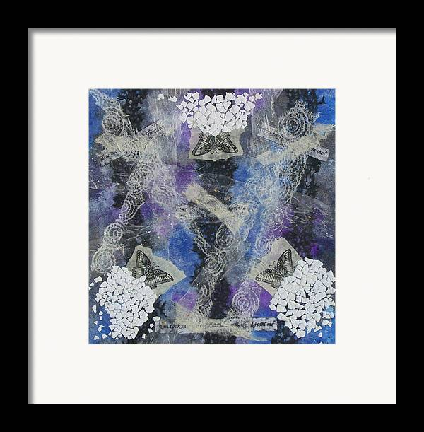 Framed Print featuring the mixed media Metamorphosis by Michele Caporaso