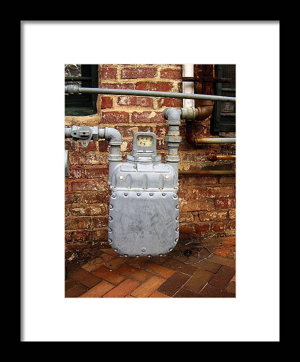 Meter Framed Print featuring the photograph Meter II In Athens Ga by Flavia Westerwelle
