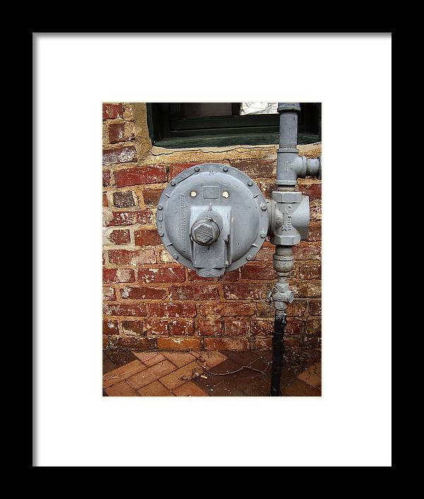 Meter Framed Print featuring the photograph Meter In Athens Ga by Flavia Westerwelle