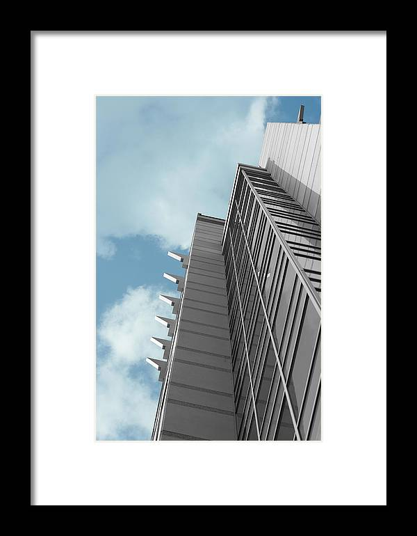 Building Framed Print featuring the photograph Metro by Don Prioleau