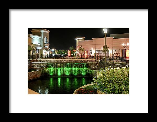Huntsville Framed Print featuring the photograph Metro Light Show by Jeannee Gannuch