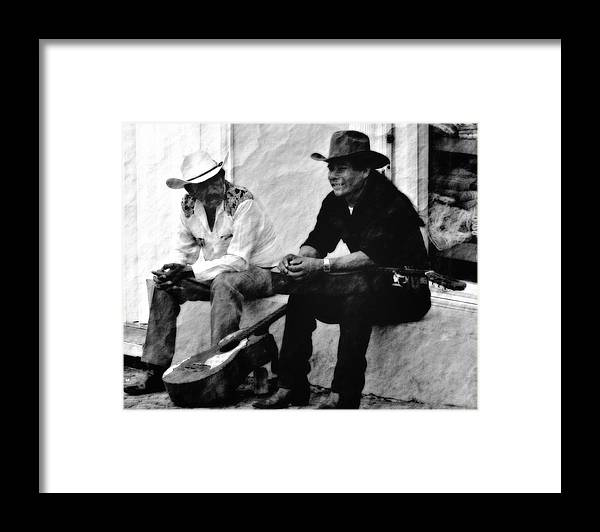 Mexican Framed Print featuring the photograph Mexican Cowboys by Gina Cormier