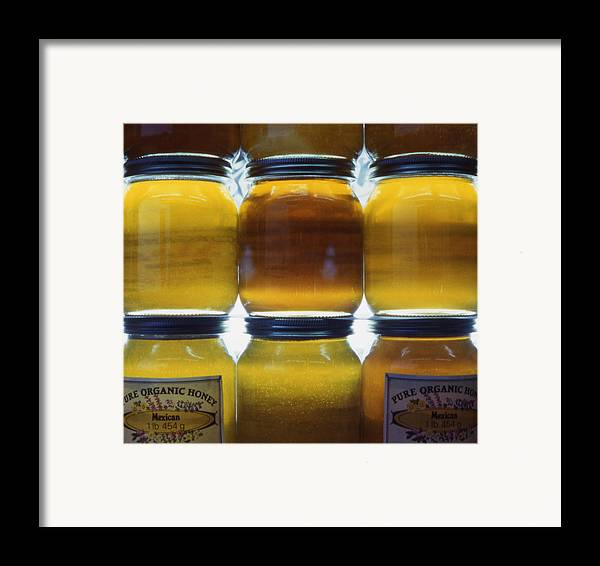 Pure Framed Print featuring the photograph Mexican Honey by Steve Outram