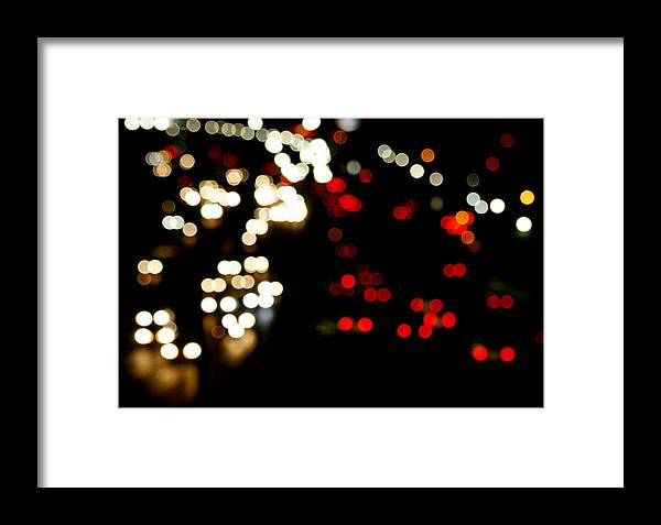 Mexico Framed Print featuring the photograph Mexico City De Noche by Carmen Sandoval