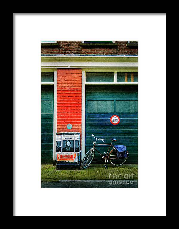Bicycle Framed Print featuring the photograph Michel De Hey Bicycle by Craig J Satterlee