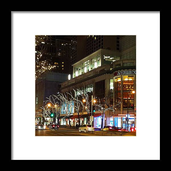 Chicago Framed Print featuring the photograph Michigan Avenue by Elizabeth Coats