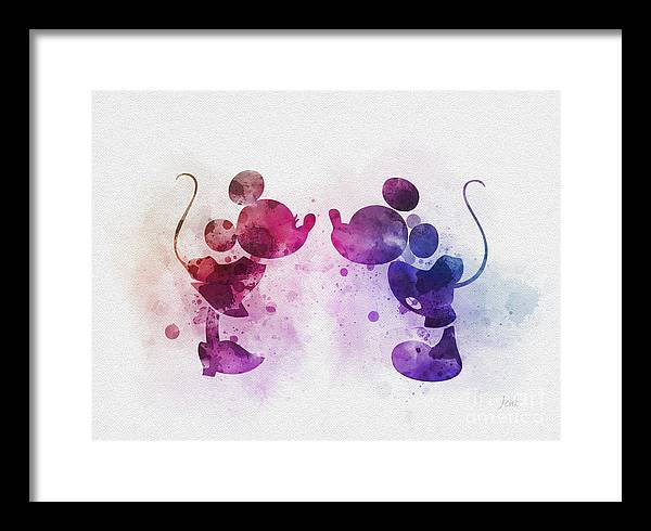 Mickey and Minnie by My Inspiration