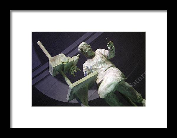 Jez C Self Framed Print featuring the photograph Micro Surge by Jez C Self