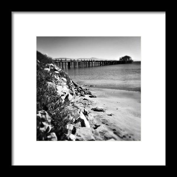 Water Framed Print featuring the photograph Mid-day Lull by Joanne Riske